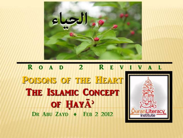 Islamic Concept of Haya preview